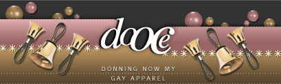 dooce.com Masthead for December 3, 2001 by Heather B. Armstrong titled Donning Now My Gay Apparel