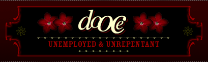dooce.com Masthead for March 4, 2002 by Heather B. Armstrong titled Unemployed & Unrepentant