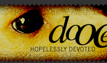 dooce.com Masthead for April 16, 2002 by Heather B. Armstrong titled Hopelessly Devoted