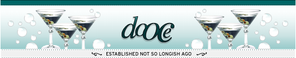dooce.com Masthead for March 10, 2003 by Heather B. Armstrong titled Established Not So Longish Ago