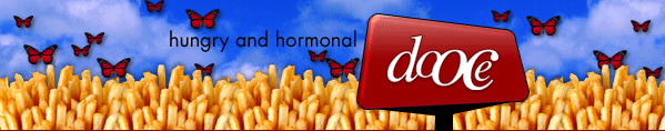 dooce.com Masthead for June 17, 2003 by Heather B. Armstrong titled Hungry and Hormonal