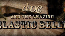 dooce.com Masthead for November, 2003 by Heather B. Armstrong titled dooce and the Amazing Enormous Whopping Elastic Belly
