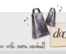 dooce.com Masthead for September, 2004 by Heather B. Armstrong titled Now With More Cowbell