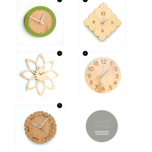 Clocks shared by dooce.com
