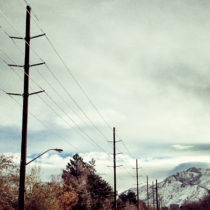 Photo of Sunynside Avenue in Salt Lake City by Heather Armstrong for dooce.com