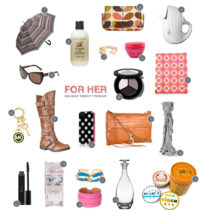 Holiday 2012 gift guide for her by Heather B. Armstrong