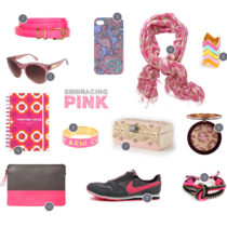 embracing pink