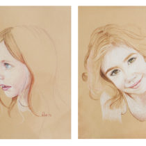 custom child portraits