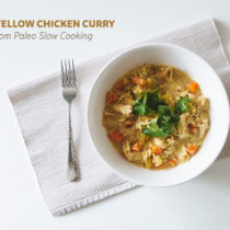 mild yellow chicken curry