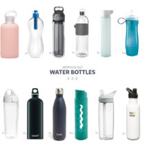 working out water bottles