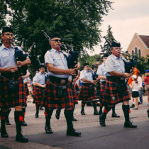 bagpipes in Edina