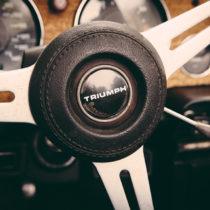 Triumph TR6 with