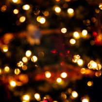 annual holiday bokeh