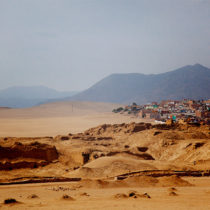 the ruins at pachacamac