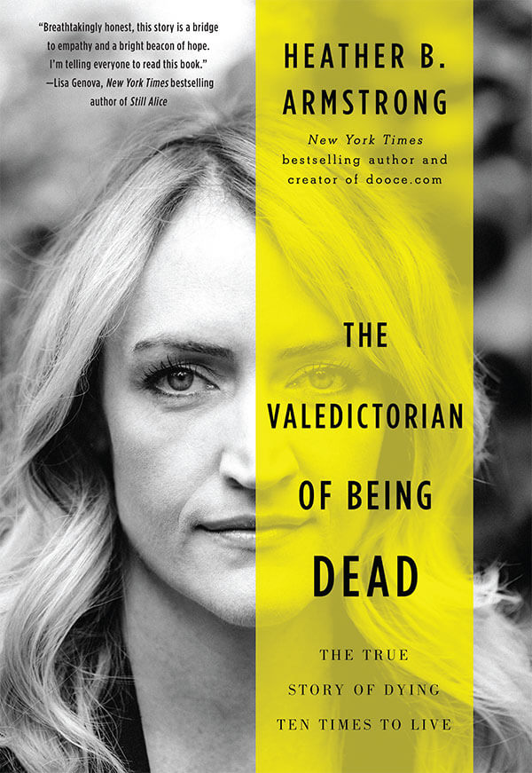 Valedictorian of Being Dead book cover